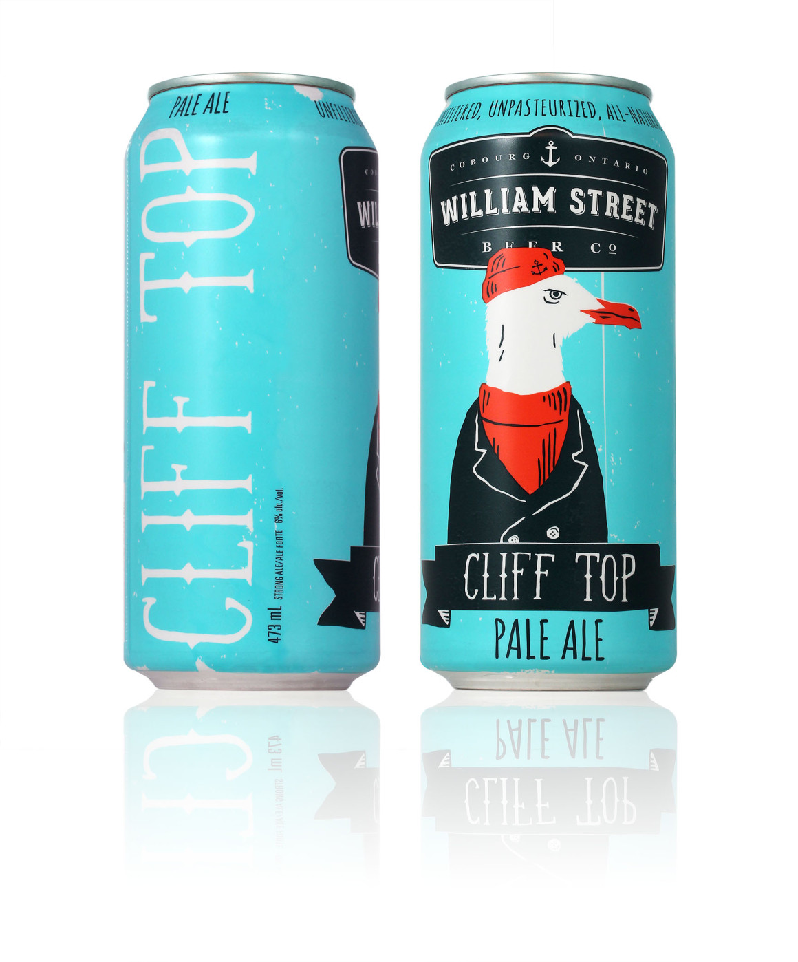 Cliff Top Pale Ale – William Street Beer Co. – Luke Despatie & The Design Firm