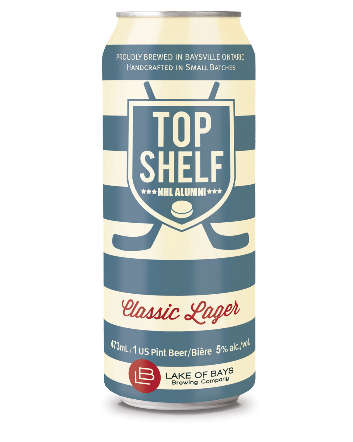 Lake of Bays Top Shelf package design – Luke Despatie and The Design Firm