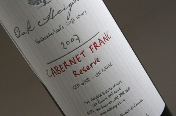 Oak Heights Reserve package design – Luke Despatie and The Design Firm