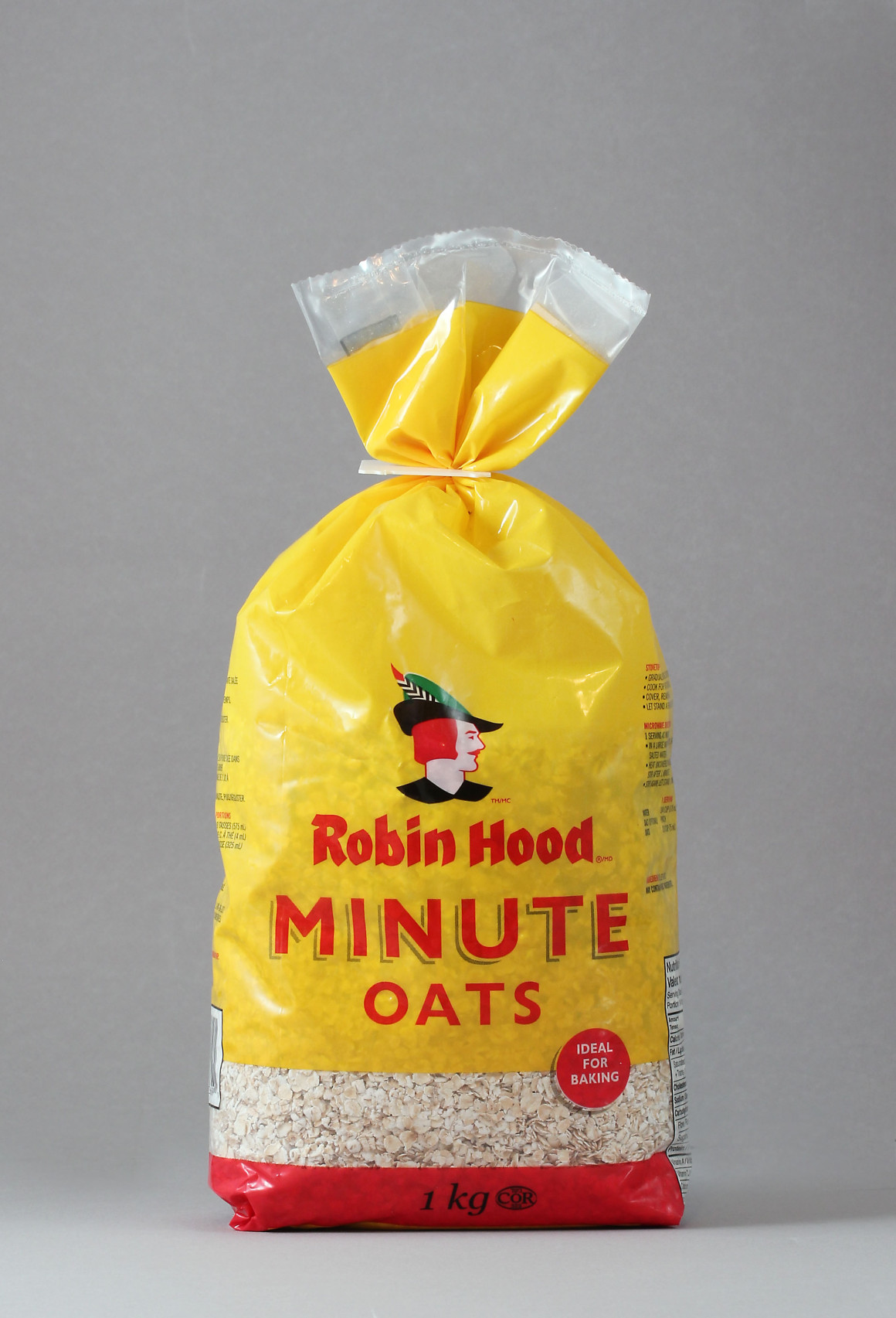 Robin Hood Oats package design – Luke Despatie and The Design Firm