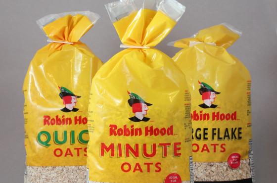 Robin Hood Oats package design – Luke Despatie and The Design Firm