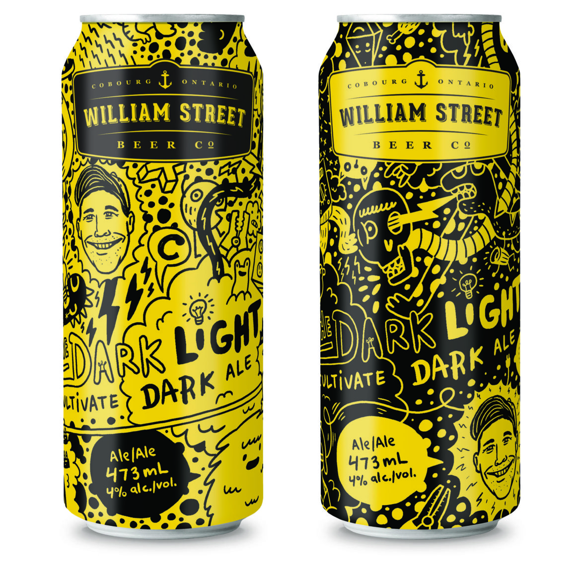 Luke Despatie & The Design Firm | Cultivate Light/Dark ale