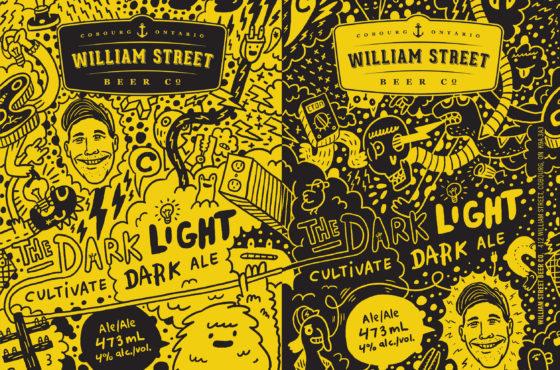Luke Despatie & The Design Firm | Cultivate Light/Dark ale